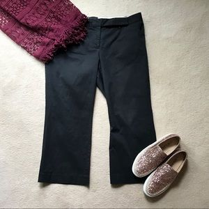 The Limited Black Cropped Capri Pants